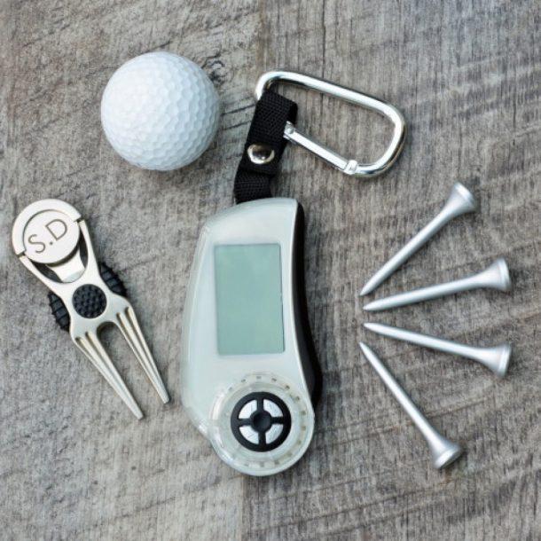 Personalised Golf Scoring Gift Set