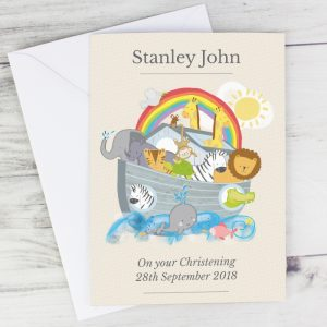 Personalised Noah's Ark Cards