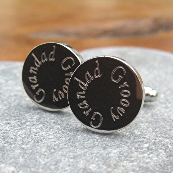 Personalised Round Cufflinks