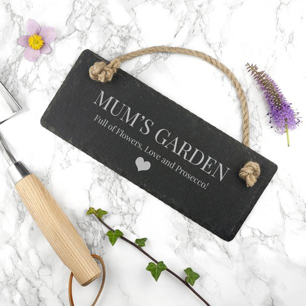 Personalised Slate Sign & Heart Motif