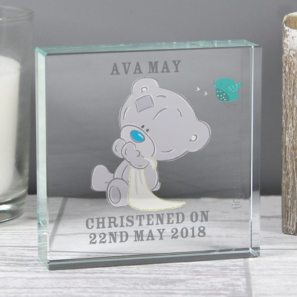 Personalised Tatty Teddy Large Crystal Token