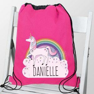 Personalised Unicorn Swim & Kit Bag