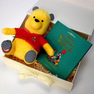Personalised Disney Winnie The Pooh Plush Toy Giftset