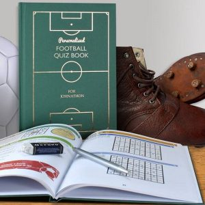 Personalised Football Quiz Book For Any Team