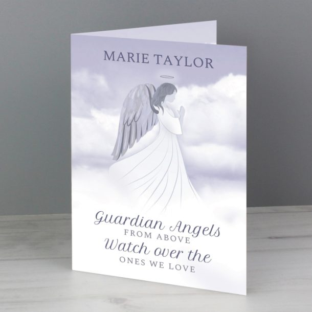 Personalised Guardian Angel Cards