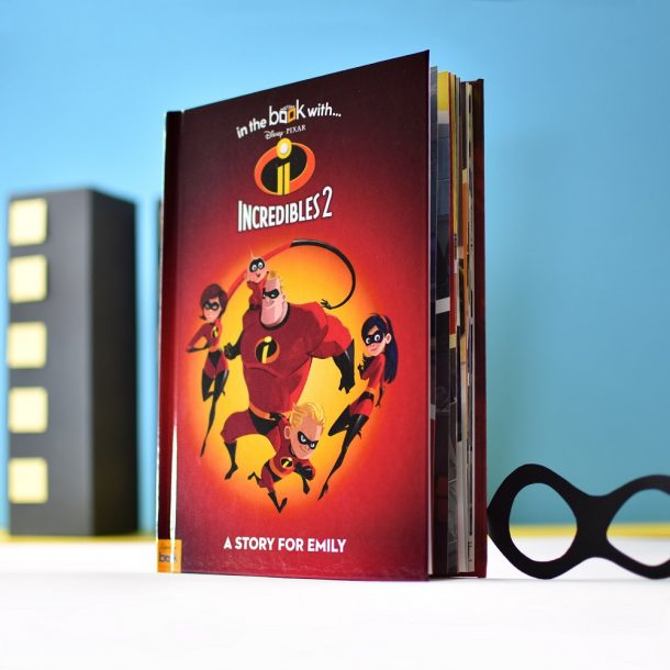 Personalised Incredibles 2 Hardback Book
