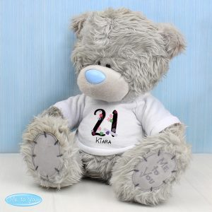 Personalised Me to You Bear with Big Age T-Shirt