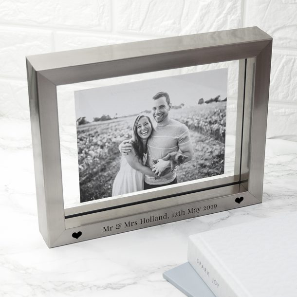 Personalised Metallic Photo Frame