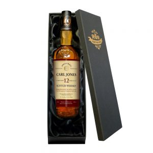 Personalised Retirement 12 Year Old Malt Whisky & Gift Box