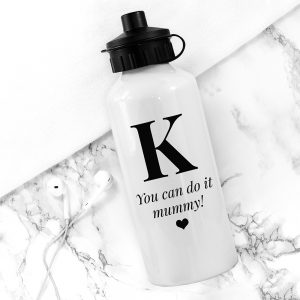 Personalised White Water Bottle