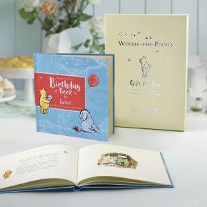 Personalised Winnie-the-Pooh's Birthday Book