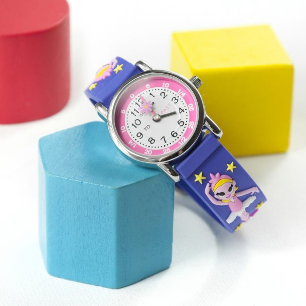 Personalised Girls Ballerina Watch