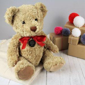 Personalised My First Christmas Bramble Bear