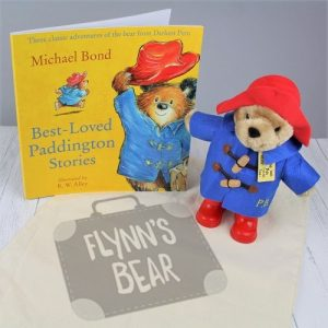 Personalised Paddington Bear Gift Set