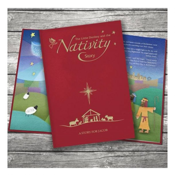 Personalised The Nativity Story Classic Hardback Book