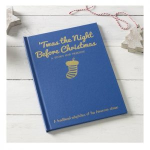 Personalised Twas the Night Before Christmas Classic Hardback Book