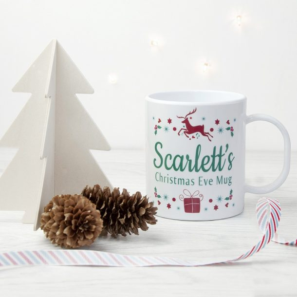 Personalised Children's Christmas Eve Mug