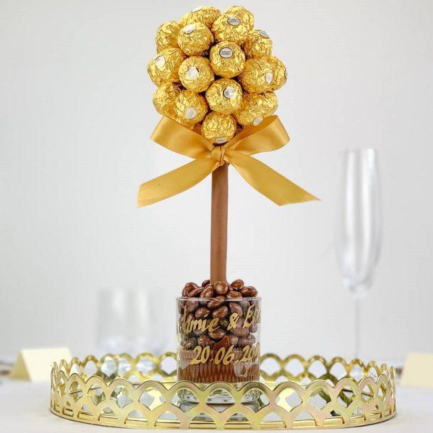 Personalised Ferrero Rocher Sweet Trees