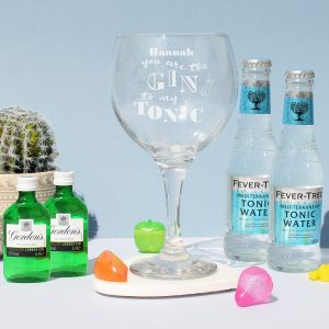 Personalised Gin To My Tonic Gin Set