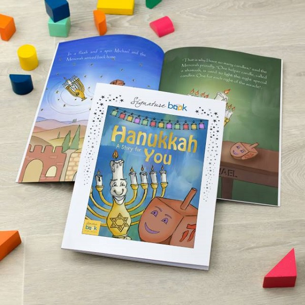 Personalised Hanukkah Softback Story Book