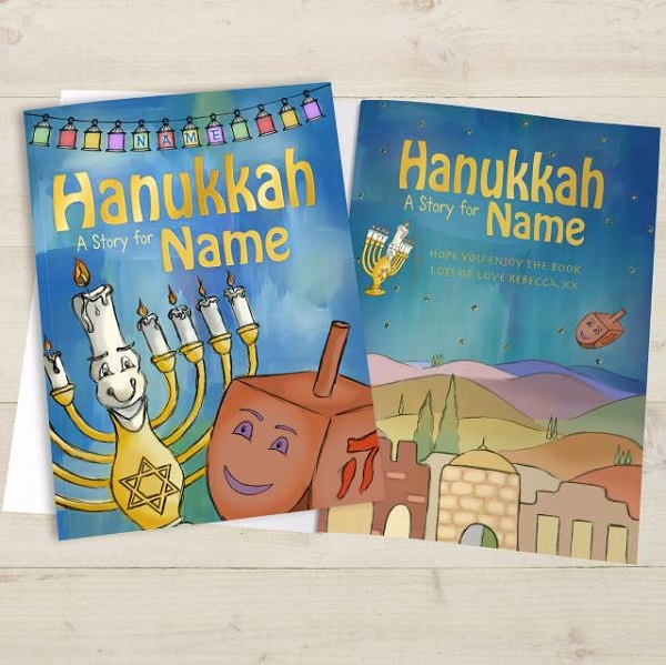 Personalised Hanukkah Softback Story Book