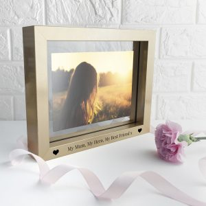 Personalised Metallic Gold Tone Picture Frame