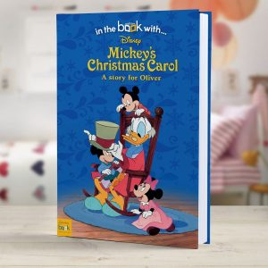 Personalised Mickey's Christmas Carol Hardback Book