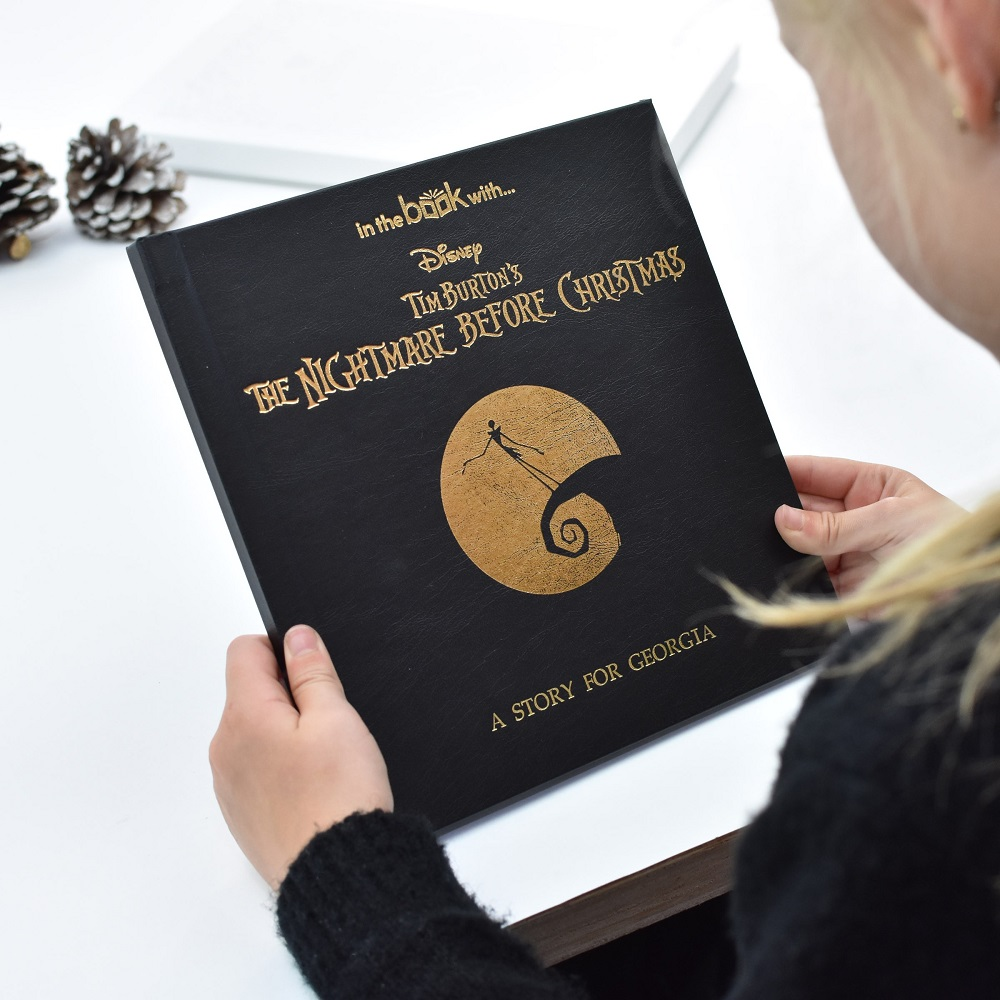 Personalised Nightmare Before Christmas Story Book | Love My Gifts