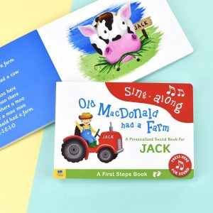 Personalised Old Macdonald First Steps Sound Book