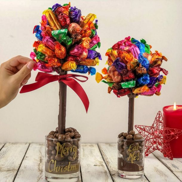 Personalised Quality Street Sweet Trees
