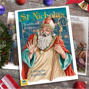 Personalised St Nicholas Traditional Folklore Softback Book