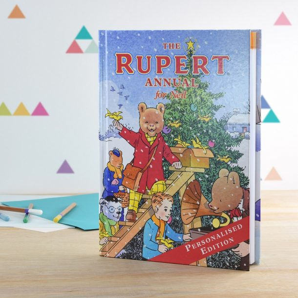 Personalised The Rupert Annual
