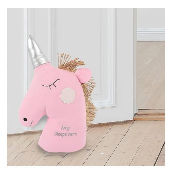 Personalised Unicorn Doorstop