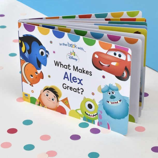 Personalised What Makes me Great Board Book