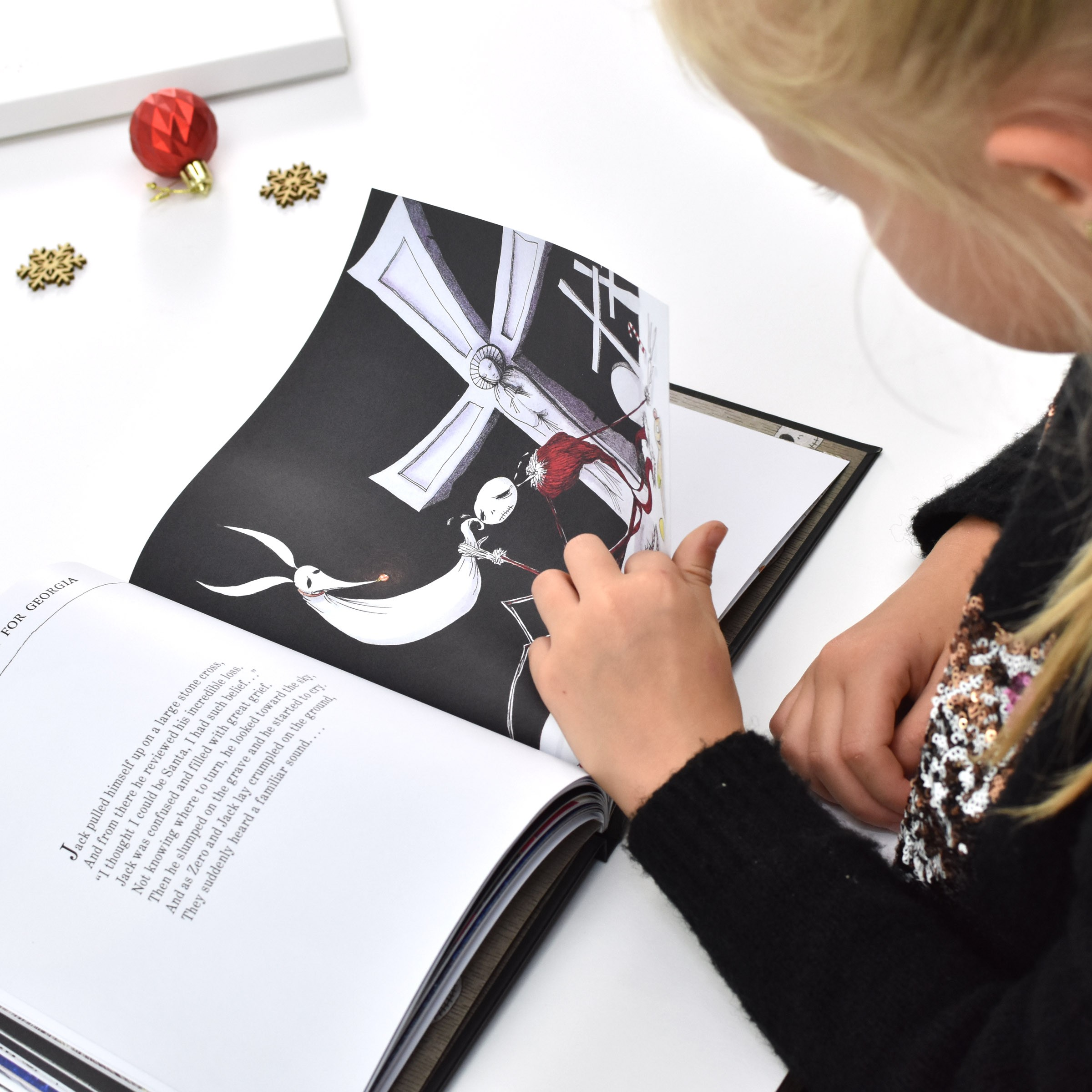 Nightmare Before Christmas Gifts Uk: Personalised Nightmare Before Christmas Story Book