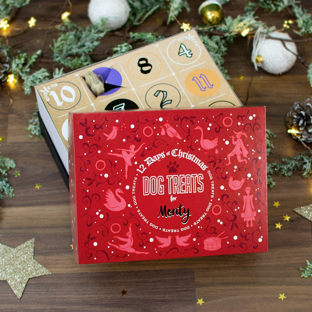 12 Days Of Christmas Gifts For Girlfriend: Personalised 12 Days Of Christmas Gift Box