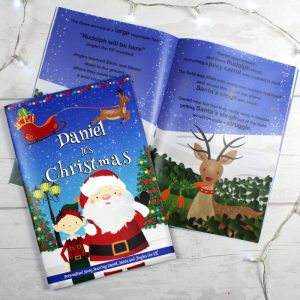Personalised Boys It's Christmas Story Book