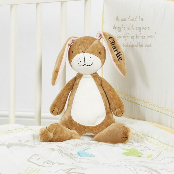 Personalised Guess How Much I Love You Plush Rattle