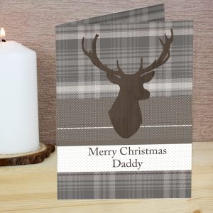 Personalised Highland Stag Cards