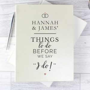 Personalised I do Wedding Planner