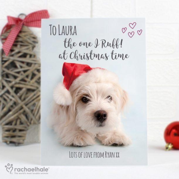 Personalised Rachael Hale Terrier Christmas Cards