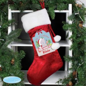 Personalised Tatty Teddy My 1st Christmas Luxury Stocking