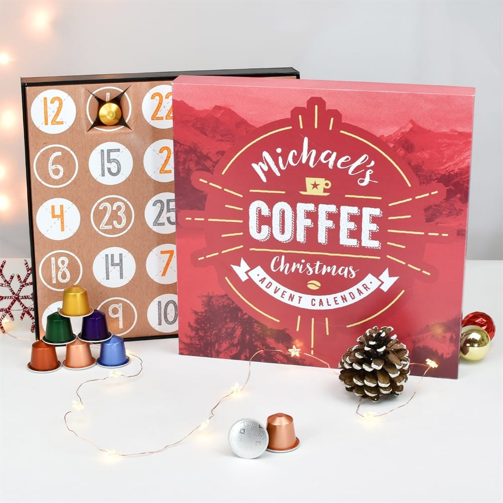 Personalised Coffee Advent Calendar   Love My Gifts