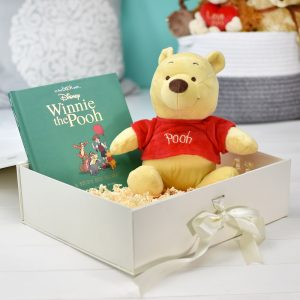 Personalised Disney Winnie The Pooh Plush Toy Giftset