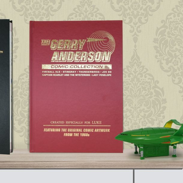 Personalised Gerry Anderson Collectors Addition Book
