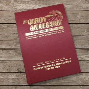 Personalised Gerry Anderson Comic Collection Deluxe Book
