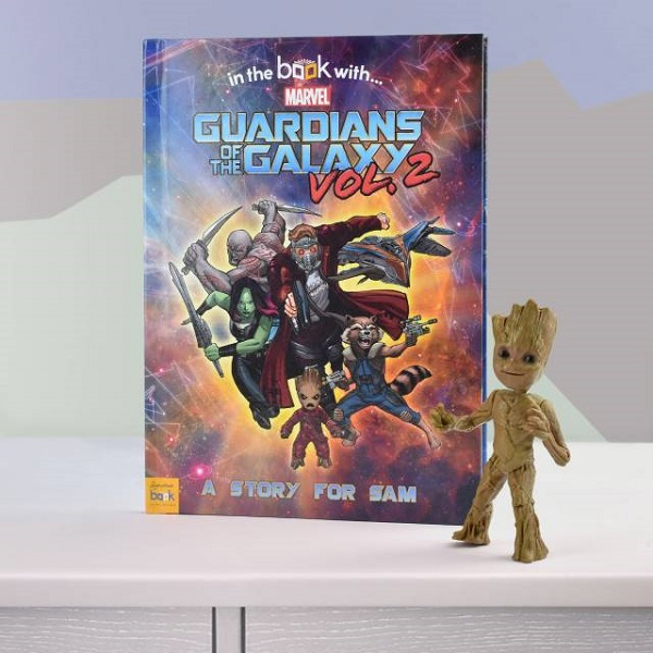 Personalised Guardians of the Galaxy 2 Hardback Book