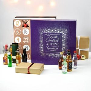 Personalised Mixed Spirits Advent Calendar