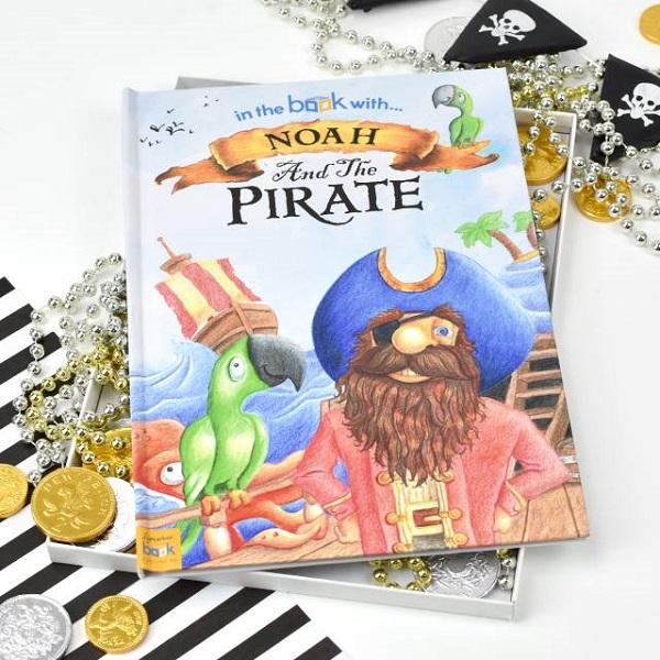 Personalised Pirate Hardback Book
