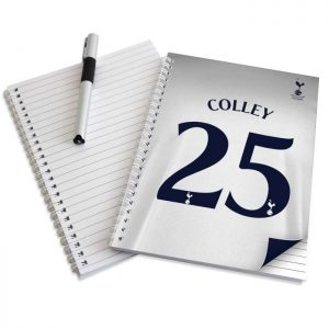 Personalised Tottenham Hotspur A5 Notebook